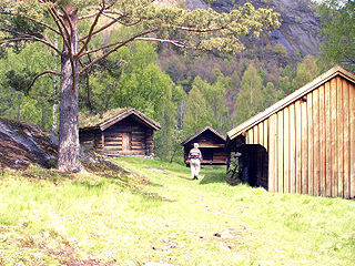 Evje og Hornnes Municipality in Agder, Norway