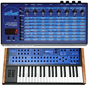 Dave Smith Instruments - Image: Evolver Desktop and Keyboard