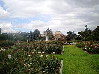 Exposition Park Rose Garden - Exposition Park Rose Garden, 2008