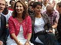 Fête de la Fraternité 2009 - Ségolène Royal et Najat Belkacem by Mikani.JPG