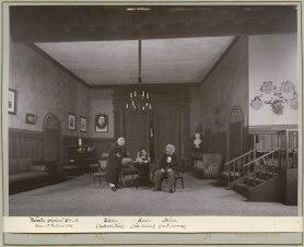Första fiolen, Dramatiska teatern 1900. Föreställningsbild - SMV - H10 043.tif