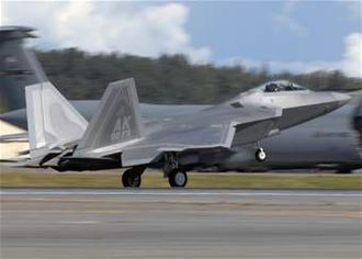 90th Fighter Squadron - The first of 40 F-22A Raptors at Elmendorf. The aircraft is flown and maintained by the active-duty Air Force's 90th Fighter Squadron and Air Force Reserve 302d Fighter Squadron.