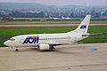 F-GHUL B737-53C AOM ZRH 28AUG99 (6314819652).jpg