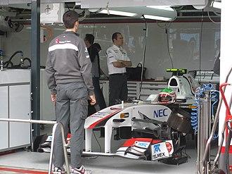 2011 Australian Grand Prix - Sergio Pérez made his Grand Prix début with Sauber.