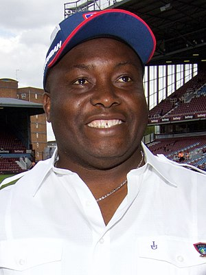 Ifeanyi Ubah - Ifeanyi Ubah during a visit to West Ham United F.C. in 2015