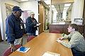 FEMA - 40749 - FEMA Community Relations team meets with Moorhead City Engineer.jpg