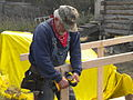 FEMA - 41668 - Volunteer Constructing a Handicap Ramp in Alaska.jpg