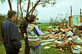 FEMA - 44321 - Disaster officials with a homeowner in Oklahoma.jpg