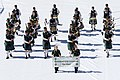 FIL 2012 - Arrivée de la grande parade des nations celtes - Queensland irish association pipe band.jpg