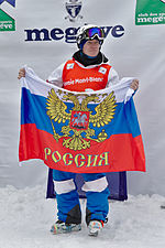 FIS Moguls World Cup 2015 Finals - Megève - 20150315 - Alexandr Smyshlyaev 4.jpg