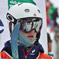 FIS Moguls World Cup 2015 Finals - Megève - 20150315 - Thomas Rowley 1.jpg