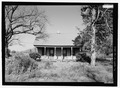 FRONT ELEVATION - Alfred Llorens House, State Highway 119, Natchitoches, Natchitoches Parish, LA HABS LA-1346-2.tif