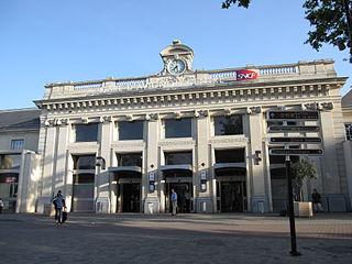 Avignon-Centre station Railway station in Avignon, France