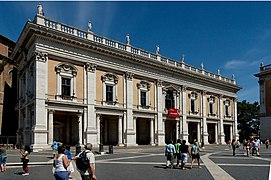 Facade Palazzo Nuovo Roma