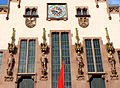 Facade details city hall Römer Frankfurt Hesse Germany.JPG