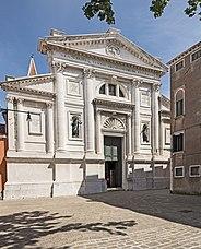 Fachada de la iglesia de San Francesco della Vigna, Venecia (1565)