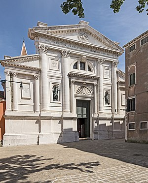 San Francesco della Vigna - Image: Facade of San Francesco della Vigna (Venice)