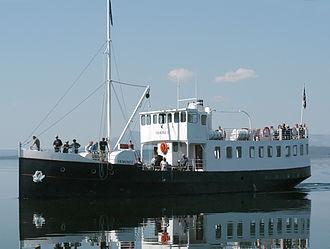MS Fæmund II - Faemund II in 2004