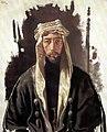 Faisal I of Iraq by William Orpen 1919.jpg