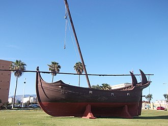 Ship - Replica of a ship, typical of the 10th–14th centuries in Islamic Iberia.