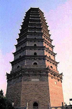 Famen Temple - Famen Temple Pagoda