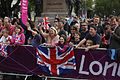 Fans enjoy the action at Hyde Park Corner (7741290460).jpg
