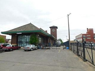Fargo station Amtrak station in North Dakota, United States of America