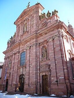Fassade Jesuitenkirche Heidelberg