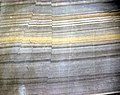 Faulted sandstone (Unkpapa Sandstone, Upper Jurassic; Calico Canyon, Buffalo Gap, South Dakota, USA) 5 (31588773334).jpg