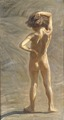 Fausto. Study of a Nude Boy (J.A.G. Acke (eg. Johan Axel Gustaf Andersson)) - Nationalmuseum - 21168.tif