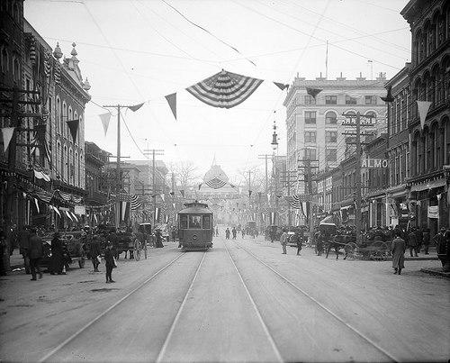 Fayetteville Street Raleigh 1910