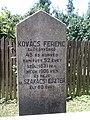 Ferenc Kovács †1906 grave, 2020 Sárospatak.jpg