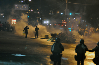 Police reform in the United States - Image: Ferguson Day 6, Picture 44