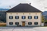Ferlach Kappel 22 Pfarrhof Nord-Ansicht 10102017 1437.jpg