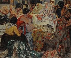 Los mantones de Manila