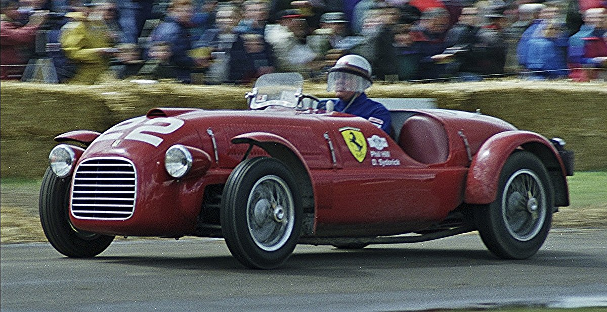 Festival Of Speed >> Ferrari 166 SC - Wikipedia
