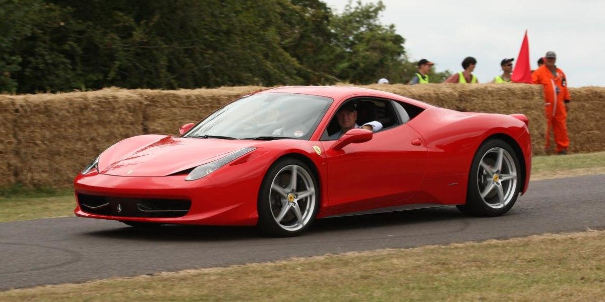Ferrari 458 Italia Wikipedia A Enciclopedia Livre