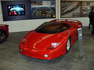 Ferrari Mythos - Image: Ferrari Mythos Front