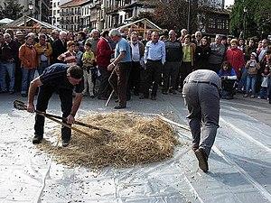Grado, Asturias - Image: Festivalescanda
