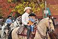 Fiestas Patrias Parade, South Park, Seattle, 2015 - 286 - the horses (21568496776).jpg