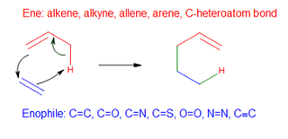 Ene reaction chemical reaction