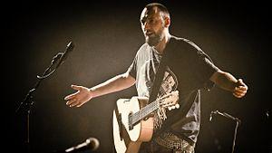 Fink (singer) - Fink onstage in Utrecht, 2011