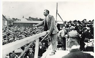 Fionán Lynch - Lynch at an election rally in the 1920s