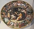 Firenze, cerchia di giovan battista franco, desco da parto con nascita di ercole, 1530-40 ca.JPG