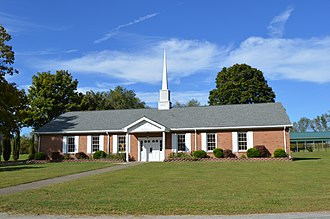 Dunkard Township, Greene County, Pennsylvania - Baptist church in the community of Dunkard