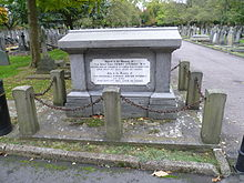Fitzroy family grave City of Westminster Cemetery, Hanwell.JPG