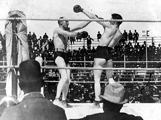 Bob Fitzsimmons - March 1897 Fitzsimmons-Corbett boxing match