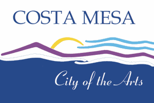 Costa Mesa, California - Image: Flag of Costa Mesa, California