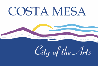 Flag of Costa Mesa, California