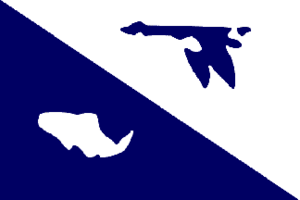 NOAAS David Starr Jordan (R 444) - Image: Flag of the United States Fish and Wildlife Service